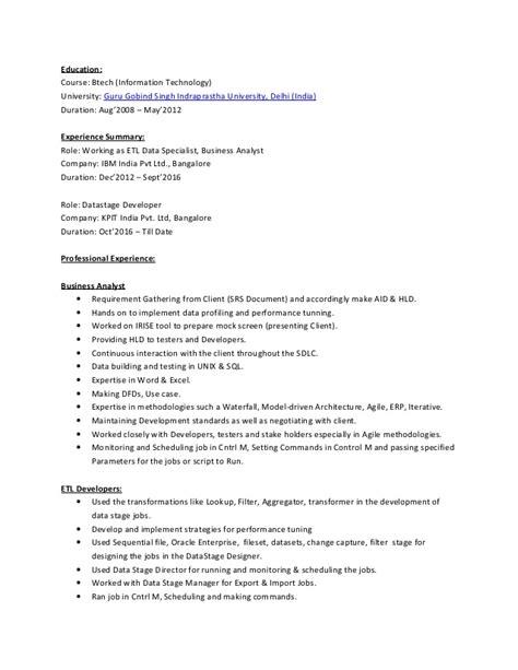 jagpreet resume datastage