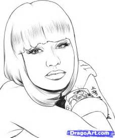 Nicki Minaj Cartoon Drawings  Lol Roflcom sketch template