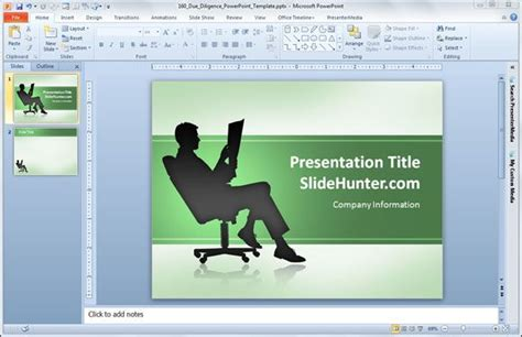 office template powerpoint free due diligence powerpoint template free powerpoint