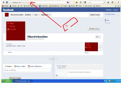 facebook fan page how to change facebook fanpage name tips n tricks online
