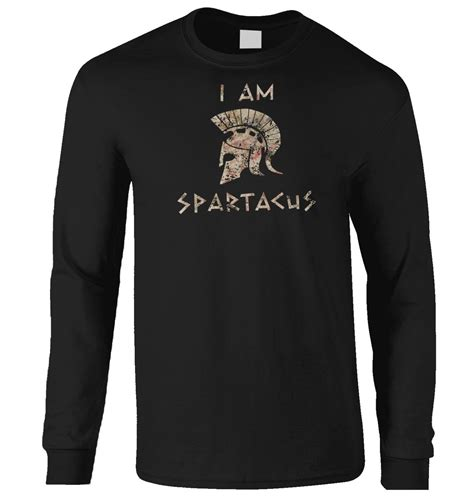 Hoodie I Am Spartacus i am spartacus sleeved t shirt somethinggeeky