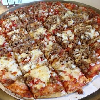 table pizza union city pizza king pizza 102 w chestnut st union city in