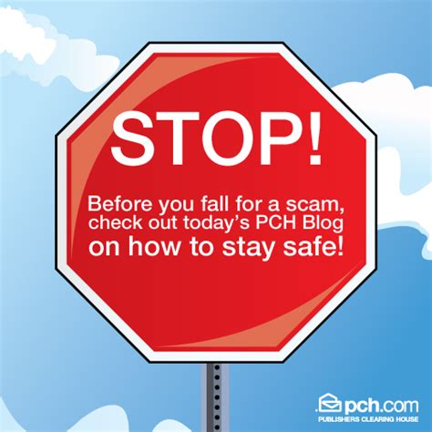 Pch Payment Center - beware of publishers clearing house scams pch blog