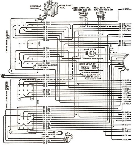 1968 chevelle wiring diagrams