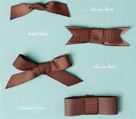 How To Tie A Decorative Bow a chi chi affair tags bows and presents