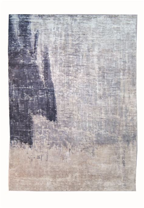 Roche Bobois Rugs by Roche Bobois Brushing 100 Handwoven Painted Rug