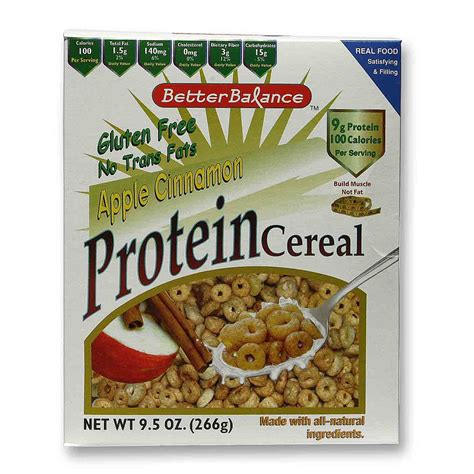 protein cereal s naturals protein cereal apple cinnamon 9 5 oz