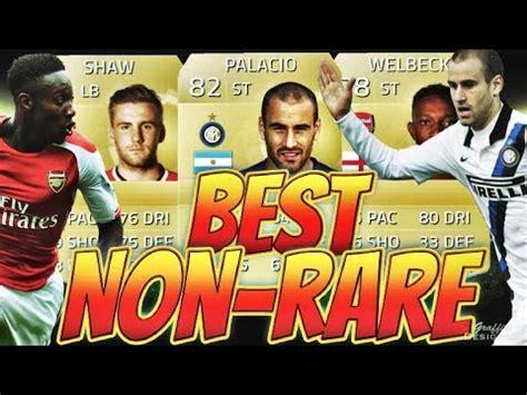non rare players fifa 15 fifa 15 best non rare team 10k op hybrid youtube