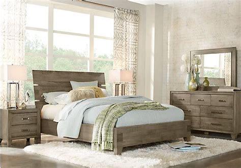 crestwood creek gray  pc queen panel bedroom