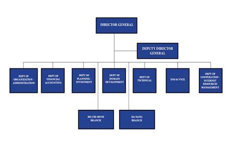 organizational structure vietnam internet network