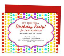 Birthday Invite Template by Birthday Invitation Template Best Template Collection