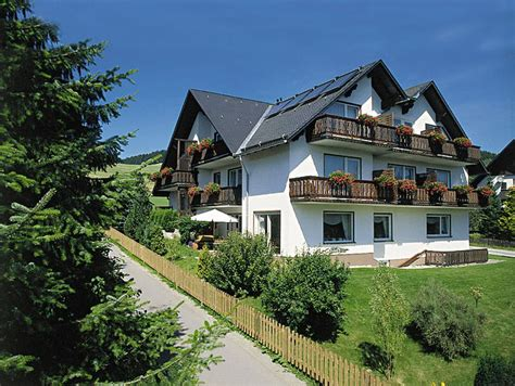 willingen haus pension haus kieferneck in willingen sauerland duitsland