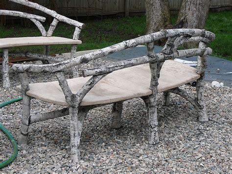 faux concrete bench 200 best images about faux bois on pinterest