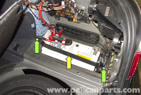 bmw excessive battery discharge bmw e60 5 series battery and connection notes replacement