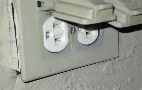 backyard outlet electrical replacing outdoor outlet home improvement stack exchange