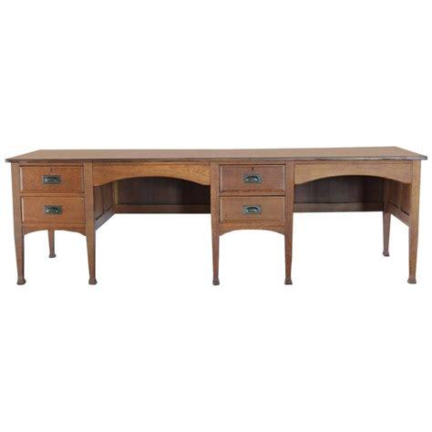 unusual desk unusual antique school double oak desk for sale at 1stdibs