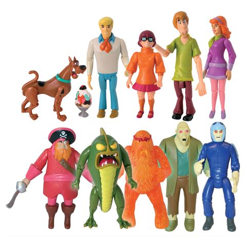 Scooby Doo 10 by Scooby Doo Set Figure 10 Pack