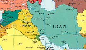 Map Of Syria And Iraq by Iraq And Iran Realclearworld