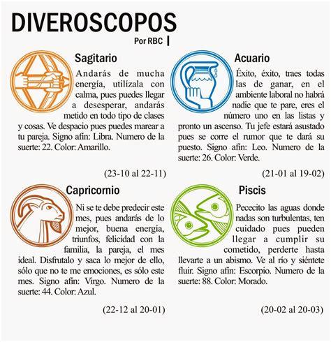 emblogrium revista  horoscopos divertidos abril