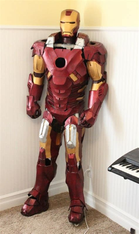 How To Make A Paper Iron Suit - photo collection ironman made out of