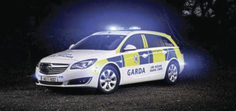 opel ireland opel insignia sports tourers for irish police gm authority