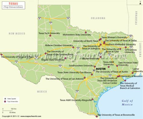 colleges in texas map texas colleges and universities college and career site for
