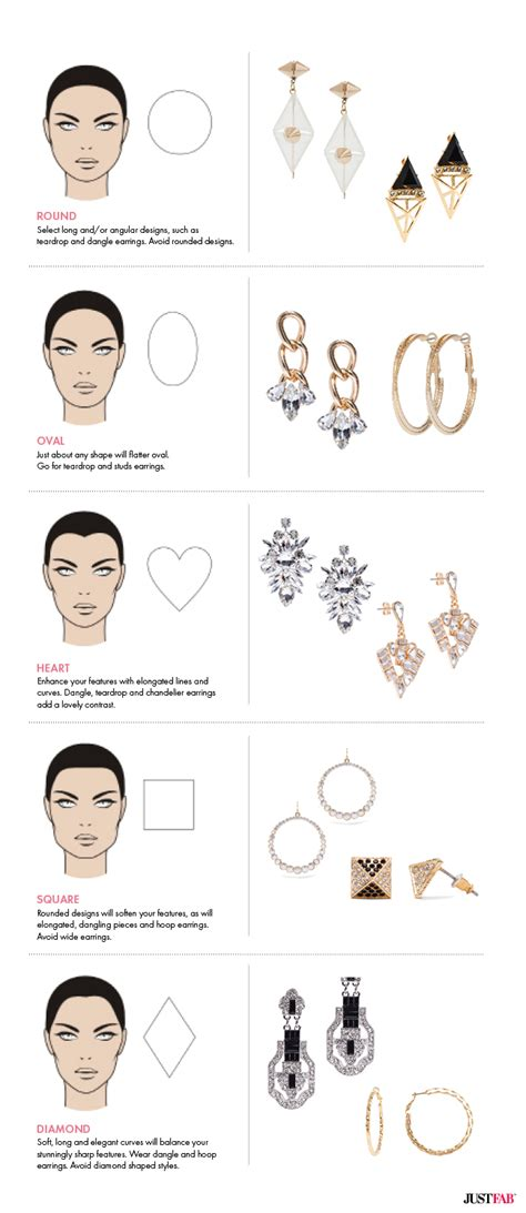 best earrings for diamond shaped faces find earrings for your face shape