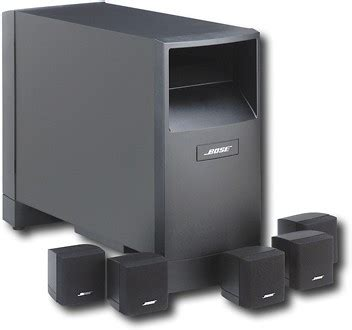 bose acoustimass 6 series iii home entertainment speaker