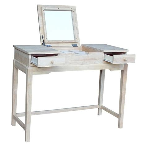 Where To Buy A Vanity Table by Vanity Table Unfinished International Concepts Target