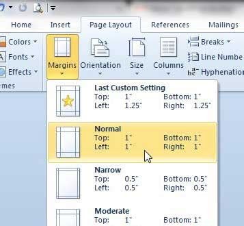 web layout word margins how to set up 1 inch margins in word 2010 solve your tech