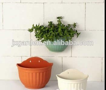 Plastic Half Wall Planters by Plastic Half Wall Planter Pot For Flower Buy Wall