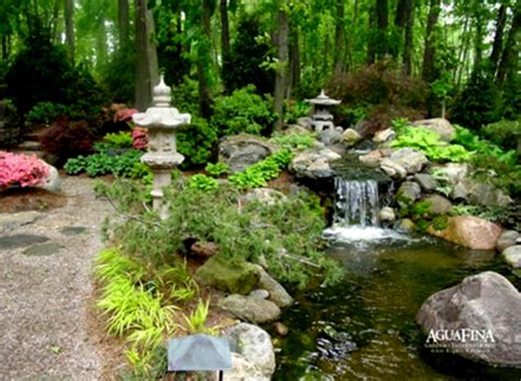 River Rock Garden Ideas With Bridge Natural Landscaping Garden Ideas Landscaping