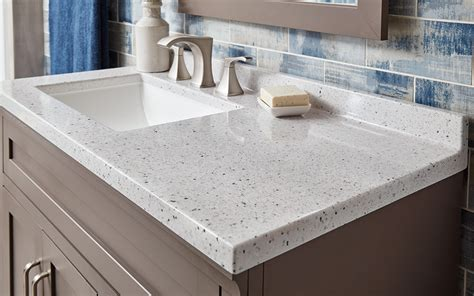 how to choose a bathroom vanity top the home depot