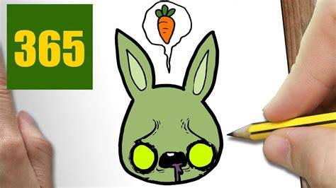 imagenes de zombies kawaii comment dessiner lapin zombie kawaii 201 tape par 201 tape