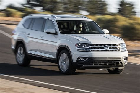 vw atlas volkswagen will offer two row version of atlas motor trend
