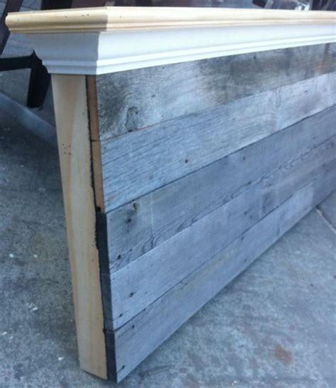 Barn Board Headboard Size Barn Wood Headboard
