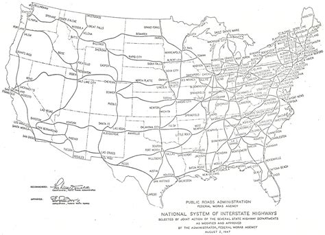 printable us map with highways united states map with interstate highways book covers