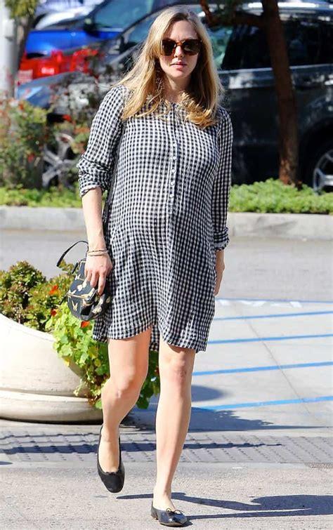 Dress Amanda 3 5 easy breezy dresses to copy amanda seyfried s maternity