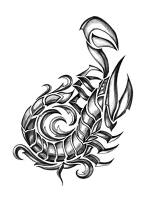 Ijzeren Tribal Schorpioen   TattooForAWeek Tijdelijke