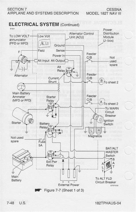cessna alternator wiring diagram 32 wiring diagram