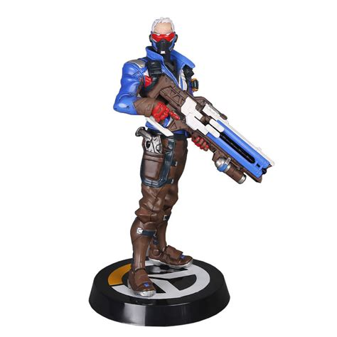 figure collectors new overwatch soldier 76 figure statue collector s edition