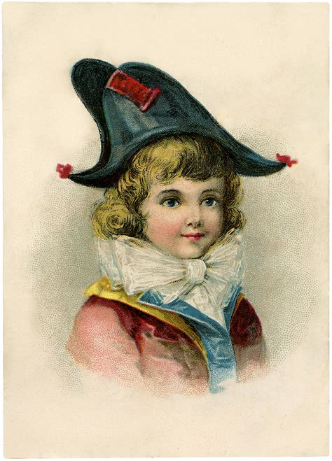 darling bicorne hat boy image  graphics fairy