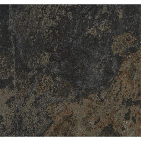 shop style selections aspen sunset porcelain slate floor and wall tile common 12 in x 12 in