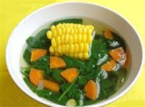 resep membuat sayur bayam bening enak resepcaramemasakorg