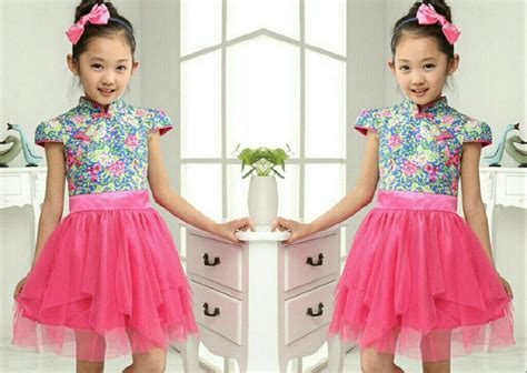 Dress Anak model baju shanghai holidays oo