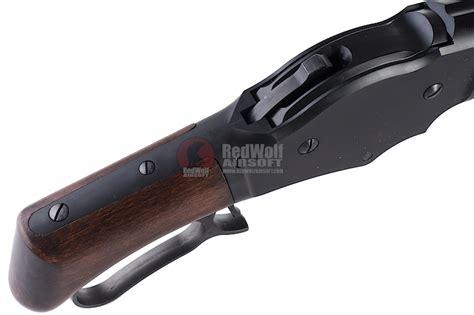 Airsoft Gun Winchester M1887 marushin m1887 maxi8 8mm wood stock version buy airsoft