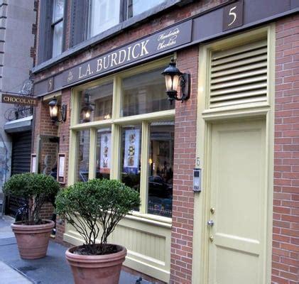 Handmade Chocolates Nyc - l a burdick handmade chocolates flatiron new york ny