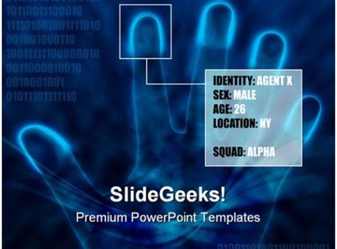 identity info security powerpoint templates  powerpoint backgrounds  powerpoint
