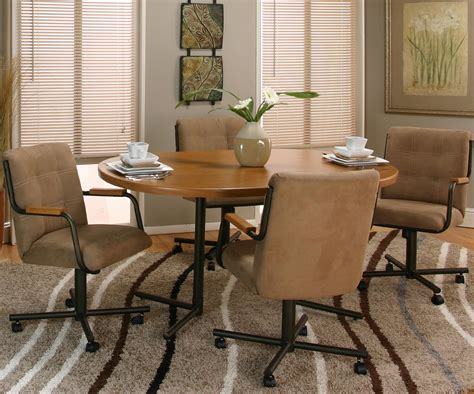Cramco Furniture by Cramco Inc Cramco Motion Dillon Oval Table W Swivel