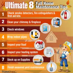 home tips ultimate 8 fall home maintenance tips trusted choice